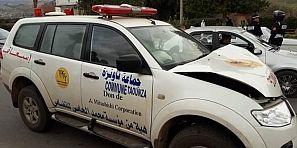 بالفيديو… حادثة سير خطيرة ببني ملال بين 3 سيارات