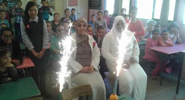 مدرسة اولاد عطو بالمديرية الاقليمية للتعليم الفقيه بن صالح تحتفل بمدرساتها في اليوم العالمي للمرأة