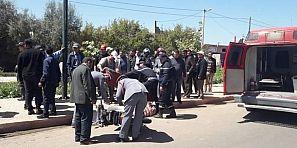 حوادث بالجملة وانعدام الأمن تدفع فعاليات لمطالبة الحموشي باحداث مفوضية للشرطة بأفورار  ومناشدة لوضع الحدبات -الصورة-