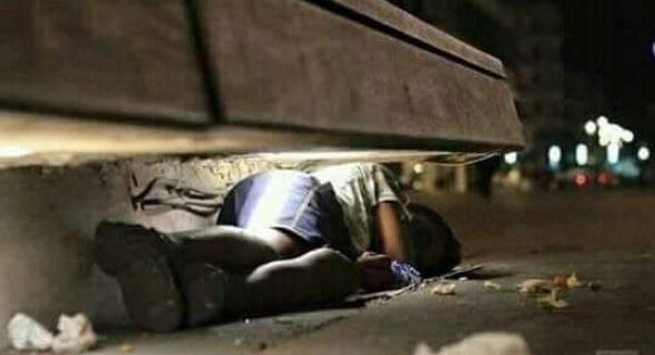 وادي زم …. المشردين الهائمين بين الشوارع