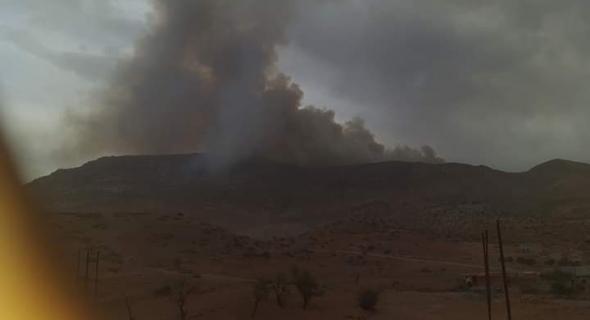 يالطيف… حريق كبير ومهول يلتهم هكتارات من الغابات بأعالي جبال أوزود بأزيلال -صورة-