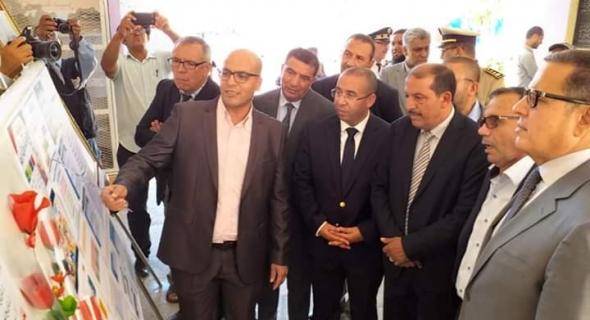 """عامل إقليم الفقيه بن صالح يعطي انطلاقة المبادرة الملكية """"مليون محفظة """""""