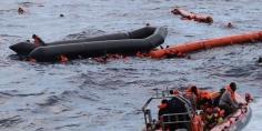 """فيديو مؤثر بزاف… لحظات غرق قارب بالبحر باسبانيا يحمل أزيد من 100 """"حراك"""""""