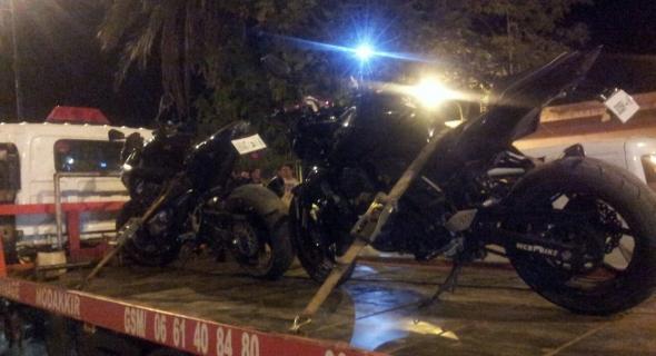 بالصور..شرطة المرور تقوم بحملة مراقبة واسعة في صفوف الدراجات النارية ذات المحرك الكبير