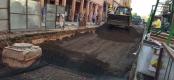 تجار خنيفرة يحتجون على تأخر الأشغال والمجلس الجماعي يوضح – الصورة-