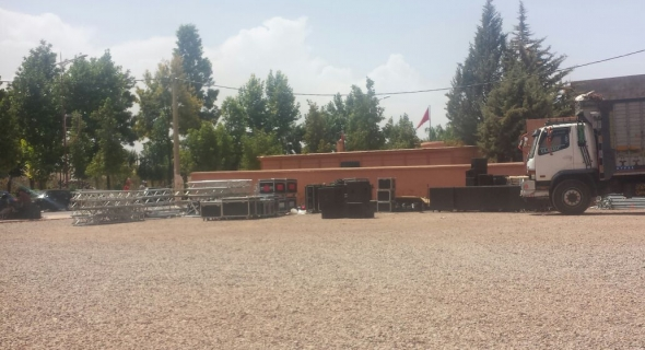 بلدية أزيلال تستعد لانجاح مهرجانها الثامن و الترتيبات عن قدم و ساق وتوقعات بحضور قياسي للزوار من مختلف الأقاليم