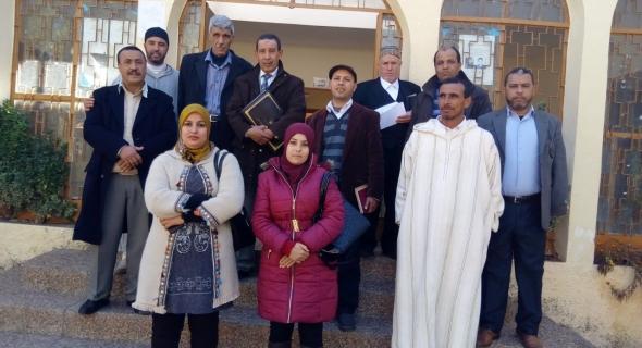 جماعة فم العنصر تنتخب رئيسها الجديد بعد وفاة الرئيس الراحل امبارك زمراك
