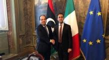 نائب رئيس الوزراء الإيطالي يعقد اجتماع مع احمد معيتيق بما يخص الملفات ذات الشأن السياسي والاقتصادي ومحاربة الهجرة السرية