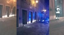 """مقر حزب الرابطة """" ليغا"""" بترينتو شمال شرق ايطاليا يهتز على وقع انفجار قنبلة ويستنفر الاجهزة الامنية"""