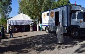 أزيد من 500 مستفيد من خدمات قافلة طبية بمدينة الفقيه بن صالح