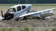 مصرع شخصين في تحطم طائرة بمدينة البندقية بينهما قائد طيران حربي