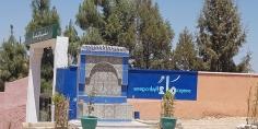 بناء سقاية ورسم لوحة جدارية باهرة يثير اعجاب العديد من المواطنين بجماعة أولاد سعيد الواد