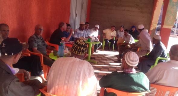 المفتش الإقليمي لحزب الاستقلال يشرف على تجديد مكتب الفرع بتكلفت و الحسين اشو كاتبا محليا
