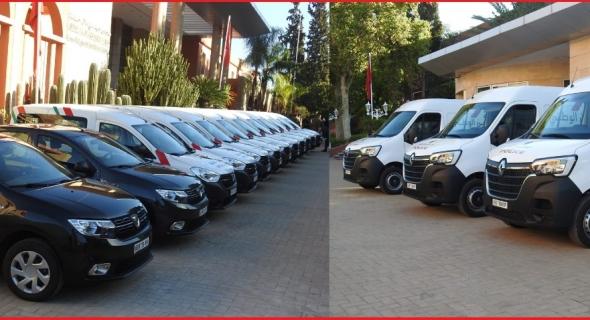 مجلس جهة بني ملال خنيفرة يُسلم لولاية أمن بني ملال 15 سيارة مُجهزة بأحدث التقنيات