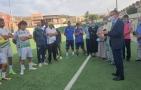 والي جهة بني ملال خنيفرة يقوم بزيارة لنادي رجاء بني ملال لكرة القدم للرفع من معنويات الفريق قبل مباراة النصف النهائي لكأس العرش
