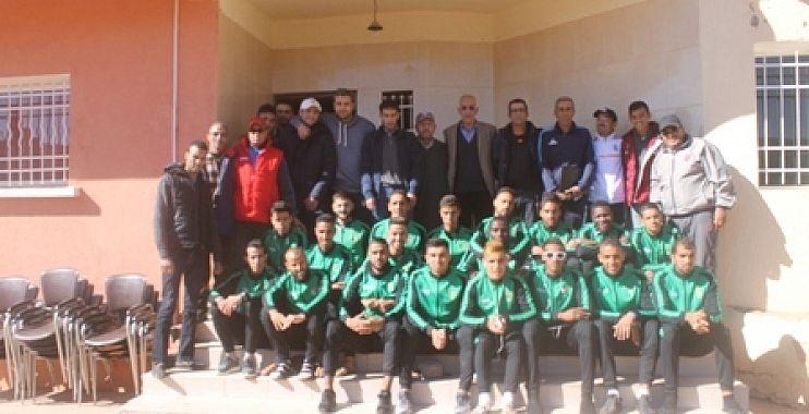 الاتحاد الرياضي لأزيلال لكرة القدم في مقابلة مصيرية  أمام فريق بلدية ورززات يوم الأحد القادم