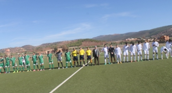 الاتحاد البيضاوي لكرة القدم يوقف طموح اتحاد أزيلال لتجاوز النحس و يهزمه بعقر داره