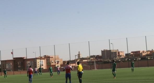 اتحاد أزيلال لكرة القدم يتعرض لهزيمة ثانية في البطولة الوطنية هواة و شباب ابن جدير يمطر الفريق بهدفين مقابل واحد