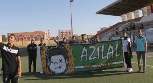 اتحاد أزيلال لكرة القدم في مواجهة أمل تزنيت في مقابلة حارقة يوم الأحد 25 دجنبر