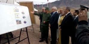 والي جهة بني ملال خنيفرة يقوم بزيارات ميدانية لتفقد مشاريع تنموية بالمناطق الجبلية