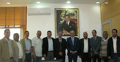 تفاصيل لقاء مكتب تنسيقية الصحافة والإعلام  بوالي جهة بني ملال خنيفرة