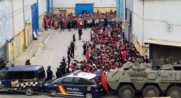 بالفيديو… تقرير يكشف زيف شعارات إسبانيا حول الديمقراطية وحقوق الإنسان بسبب تعنيف المهاجرين المغاربة وبلدان جنوب الصحراء