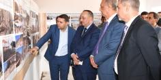 محمد الأعرج وزير الثقافة والاتصال يتفقد أشغال مشروع ترميم وتهيئة المواقع الأثرية بإقليم الحسيمة