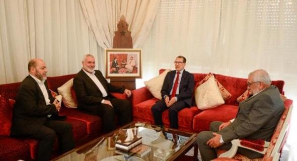"""اسماعيل هنية : """"استقبالنا كان رسميا وبرعاية ملكية وعلاقة المغرب بفلسطين ليست مصلحية ولا طارئة"""""""