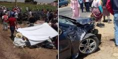 الله يرحمهم… اصطدام بين سيارة أجرة وسيارة مهاجر يودي بحياة 3 أشخاص