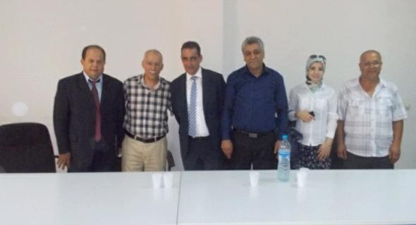 تنصيب مسؤولي المصالح اللامركزية لوزارة الصحة باقليم الفقيه بن صالح