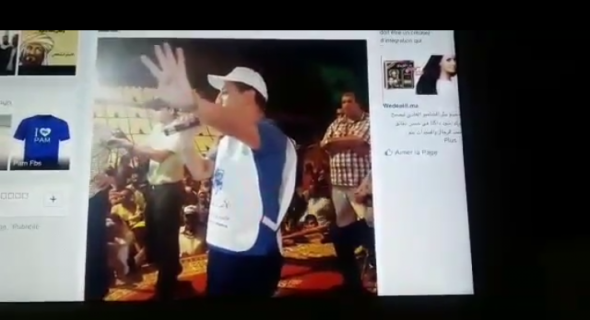 """غريب بالفيديو…مجاهد رئيس مجلس جهة بني ملال يخاطب ساكنة أولاد عياد في حملة البام :"""" رئيسكم طلب مني 2 مليار وأنا زدتو 4 مليار هاهو سولوه!"""""""