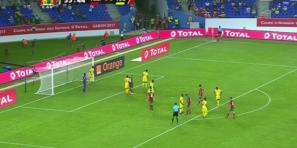 فيديو الأهداف الثلاثة الرائعة للمنتخب الوطني المغربي بمرمى المنتخب الطوغولي وهستيريا معلق المقابلة