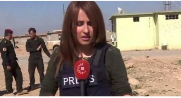 مقتل صحافية بانفجار لغم داعشي بالعراق – فيديو-
