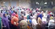 """بالفيديو… وقفة حاشدة لنساء ورجال القصيبة تطالب ب""""سبيطار"""""""