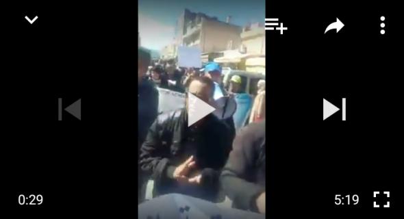 مسيرة احتجاجية بزاوية الشيخ مطالبها اجتماعية -فيديو-
