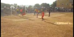 وشوفو يامكتب رجاء بني ملال هد لفيديو رااااائع… أجمل هدف على طريقة رونالدو بدوري الصومعة من قدم موهبة ملالية