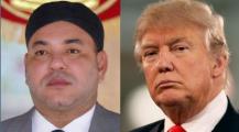 ترمب رئيس أمريكا يبعث بتهنئة لجلالة الملك محمد السادس