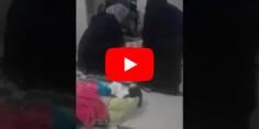 فيديو لسيدة تلد على الأرض يهز الفيسبوك