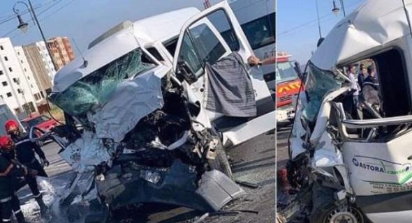 الله يرحمهم…حصيلة ثقيلة لحوادث السير بالطرقات المغربية و24 شخص لقوا مصرعهم و2133 أصيبوا بجروح -بلاغ-