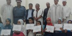 مسابقة في حفظ وتجويد القرآن الكريم بأفورار وتوزيع جوائز قيمة على الفائزين والفائزات