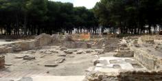 إنجاز استبارات أثرية موضعية بموقع القصر الصغير الأثري