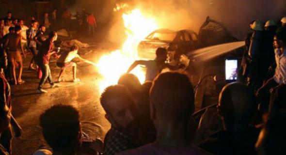 19 قتيلا في حادث خطير وسط القاهرة
