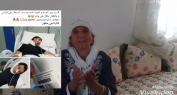 """عاجل وبالفيديو الحصري… """"مي رحمة"""" والدة المهاجر المغربي المريض بالسرطان بايطاليا توجه نداء بالبكاء للملك والسلطات والمحسنين لرؤية ابنها"""