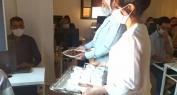 """بالفيديو…معهد بروسك """"Prosec"""" للتكوين المهني الخاص ببني ملال يستأنف الموسم الدراسي الجديد ويستقبل المتدربين والمتدربات بالتمر والحليب"""