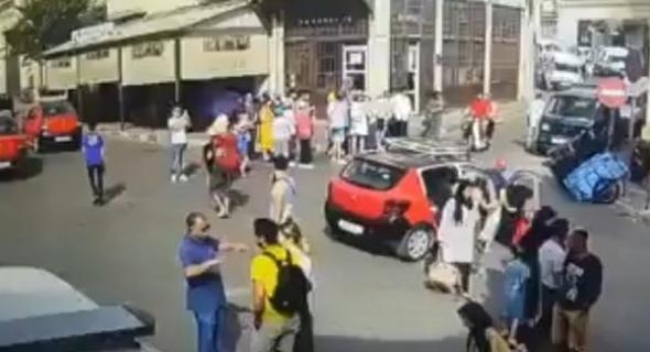 الطيش ومايدير… شاهد الفيديو لي تايوثق لحظة دهس 10 سياح و4 مغاربة
