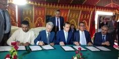 توقيع اتفاقية بين مجاهد وساجد لاعادة فتح مركز تكوين المرشدين الجبليين بتبانت