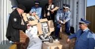 """الأمن والجمارك يحبطون عملية تهريب أزيد من 600 كلغ من """"الحشيش"""" مخبأة بطريقة محترفة داخل شاحنة"""