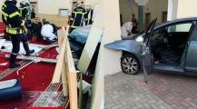 رجل يقتحم مسجدا بفرنسا بسيارته -صورة-