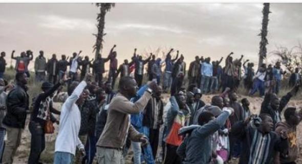 عاجل…أفارقة يهاجمون حافلة لنقل المسافرين داخل محطة أولاد زيان وهذا ما وقع
