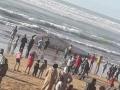 بالصور… فيسبوكيين يتداولون صورا لحوت ضخم فاجأ المواطنين بالدار البيضاء